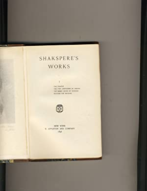 Shakespeare Works Volume 1