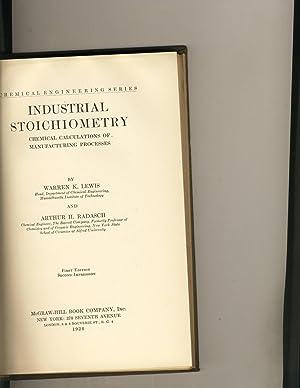 Industrial Stoichiometry: Warren K. Lewis