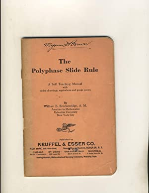 The Polyphase Slide Rule: A Self Teaching: William E. Breckenridge