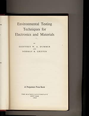 Environmental Testing Techniques for Electronics and Materials Volume 15