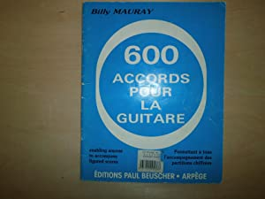 600 ACCORD POUR LA GUITARE: BILLY MAURAY
