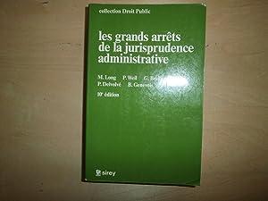 LES GRANDS ARRETS DE LA JURISPRUDENCE ADMINISTRATIVE: M LONG P