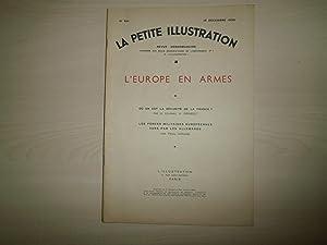 L'EUROPE EN ARMES N°801 DU 19 DECEMBRE: LA PETITE ILLUSTRATION