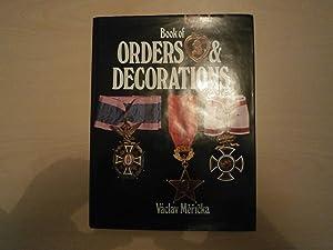 BOOK OF ORDERS & DECORATIONS: VACLAV MERICKA