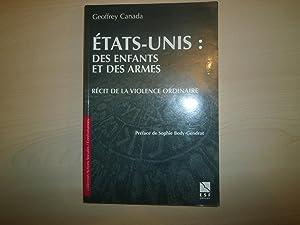 ETATS-UNIS, DES ENFANTS ET DES ARMES. Récit: Canada, Geoffrey
