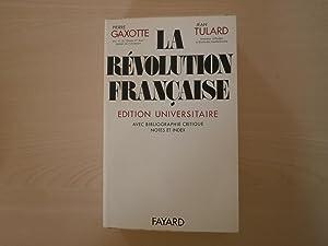 La Révolution Francaise: Pierre Gaxotte Jean