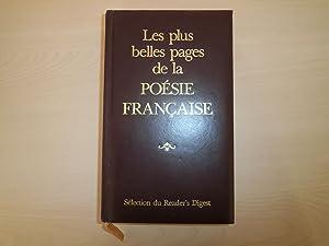 Les Plus belles pages de la poésie: Collectif; Marot, Clément;