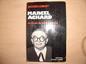 MARCEL ACHARD: JACQUES LORCEY