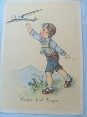 Flieger sind Sieger gelaufen am 4.8.1941 Feldpost