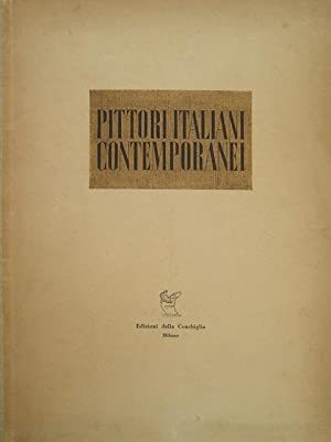 Pittori italiani contemporanei.