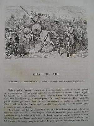 L'ingénieux hidalgo Don Quichotte de la Manche.: CERVANTES SAAVEDRA M.