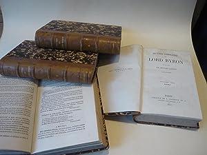 Jugement d'Aug. Comte sur l'oeuvre de Byron.: BYRON.