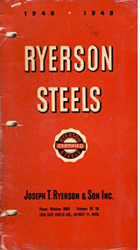 Ryerson Steels 1948-1949: Joseph T. Ryerson