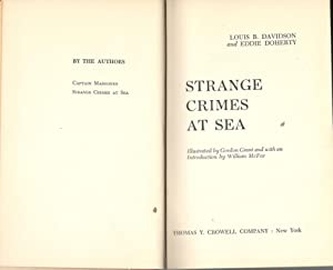 Strange Crimes At Sea: Davidson, Louis B.