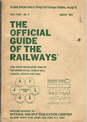 The Official Guide of the Railways August,: R. J. Laidlaw;