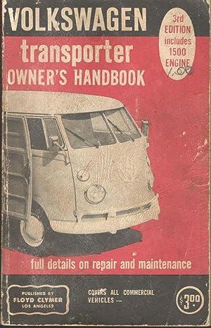 Volkswagen Transporter Owner's Manual of Repair and: Floyd Clymer; Clymer
