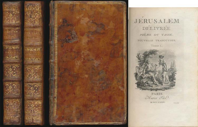 Jerusalem Delivree Poeme Du Tasse Nouvelle