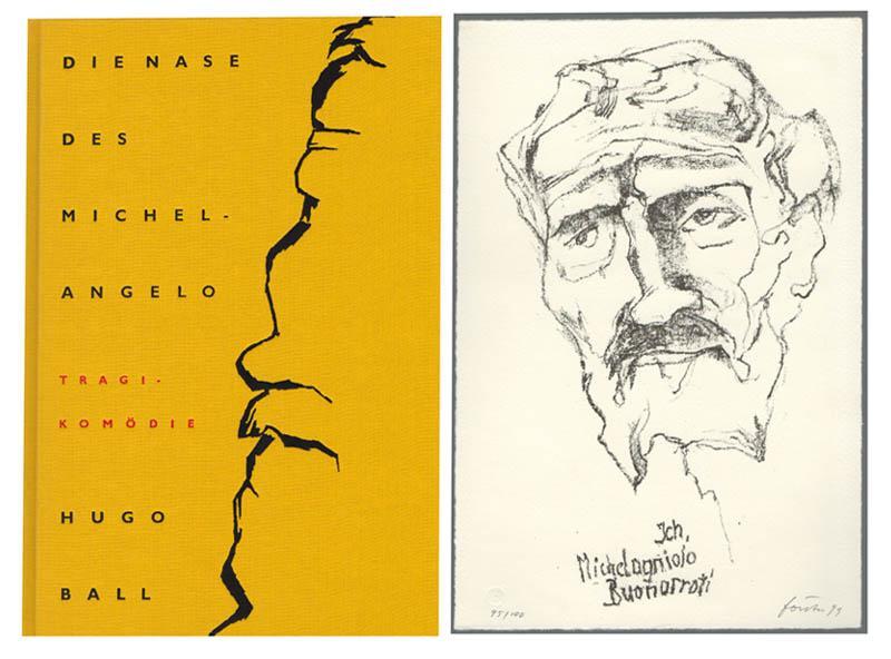 Die Nase des Michelangelo. Tragikomödie in vier: Ball, Hugo –