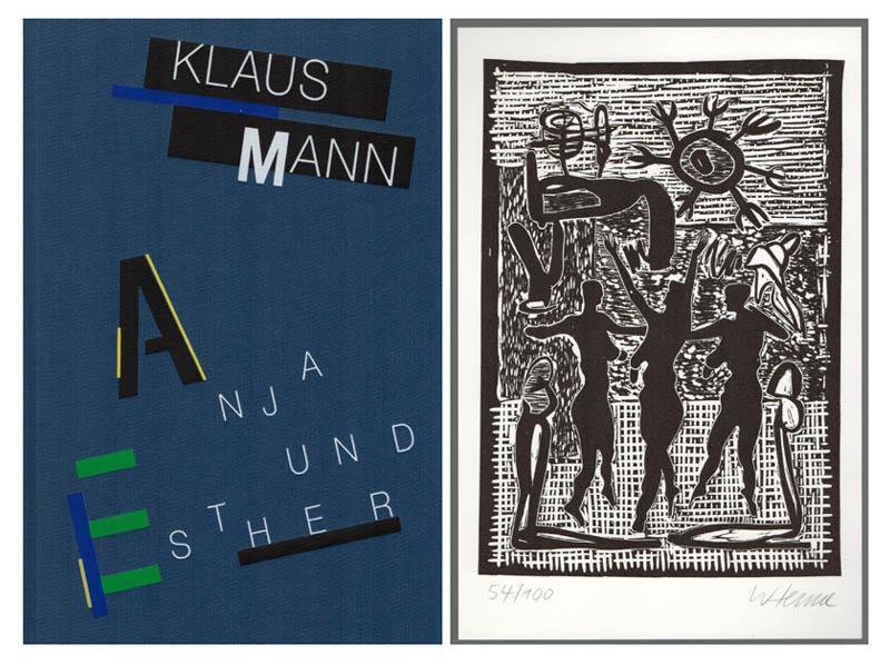Anja und Esther. Ein romantisches Stück in: Mann, Klaus –