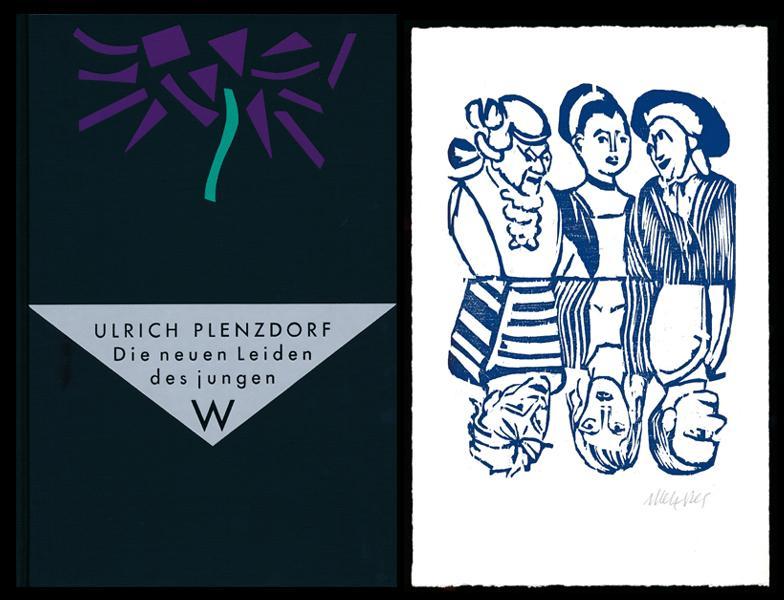 Die neuen Leiden des jungen W. [Signiertes,: Plenzdorf, Ulrich –