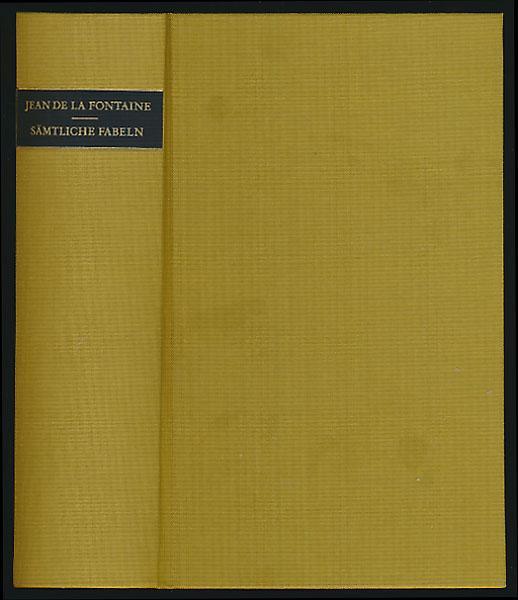 Sämtliche Fabeln. Illustriert von Grandville.: La Fontaine, Jean