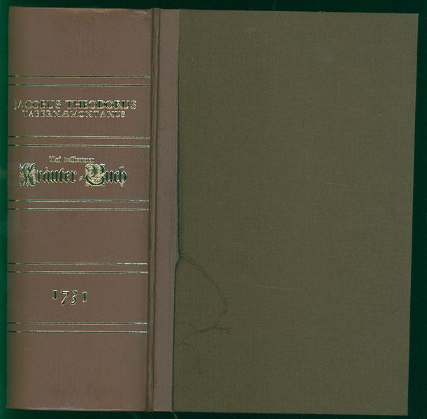 New vollkommen Kraeuter-Buch. Darinnen Uber 3000. Kräuter: Tabernaemontanus, Jacobus Theodorus