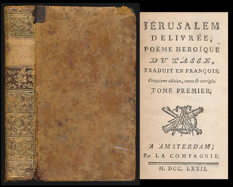 Jerusalem Delivree Poeme Heroique Du Tasse