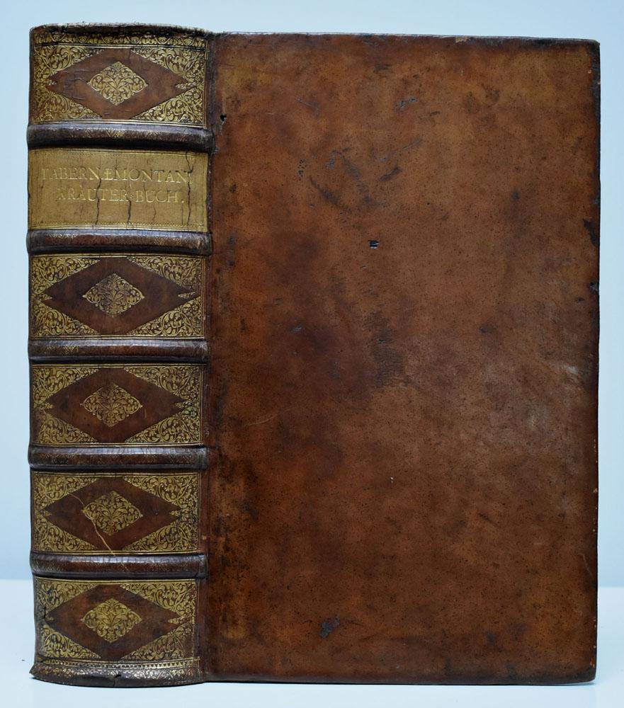 D. Jacobi Theodori Tabernaemontani, New vollkommen Kräuter-Buch.: Tabernaemontanus, Jacobus Theodorus: