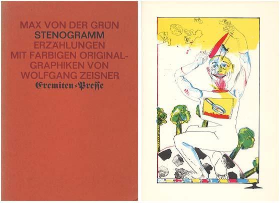 Stenogramm. Erzählungen. Mit Originalgraphiken von Wolfgang Zeiszner.