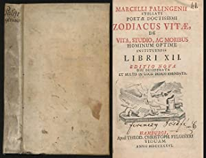 Marcelli Palingenii Stellati Poeta Doctissimi Zodiacus Vitae: Marcellus Palingenius: