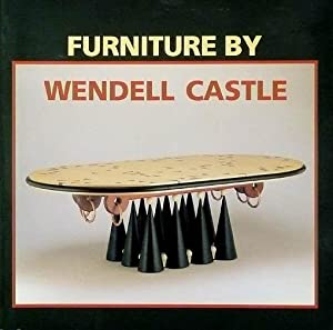 Furniture by Wendell Castle.