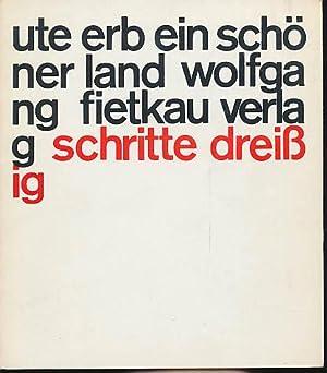 Erb Ute Schoner Land Gedichte Abebooks