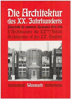 Die Architektur des XX. [Zwanzigsten] Jahrhunderts. Zeitschrift: Haiko, Peter [Hrsg.]: