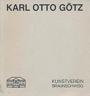 Karl Otto Götz. Arbeiten auf Papier 1935-1988.: Götz, Karl Otto: