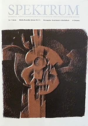 Spektrum. Vierteljahresschrift für Originalgrafik und Dichtung. Nr.: Rellstab, Felix; Knebel,