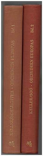 Monographie und Iconographie der Orchideen Europas und: Keller, G; Schlechter,