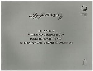 Fugato in D. von Johann Michael Haydn: Haydn, Michael: