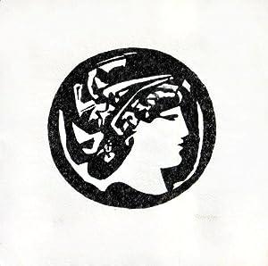 Antikes Portrait, Blick nach rechts. [19]83. [Signierter: Reins, Arno: