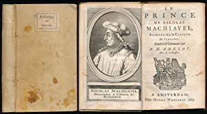 Le prince de Nicolas Machiavel, Secretaire &: Machiavel, Nicolas (Machiavelli,