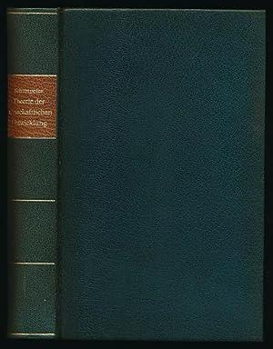 Theorie der wirtschaftlichen Entwicklung.: Schumpeter, Joseph A.:
