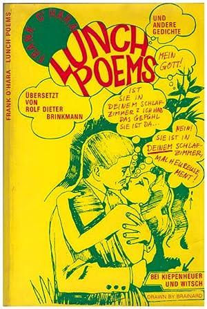 Lunch Poems und andere Gedichte. Aus dem: Brinkmann, Rolf Dieter];