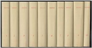 Werke und Briefe. 10 Bände (= komplett).: Heine, Heinrich: