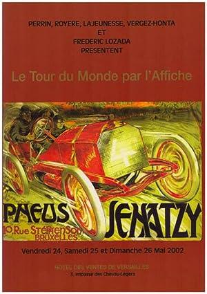 Le tour du Monde par l'Affiche. Vintage: Lozada, Frederic u.