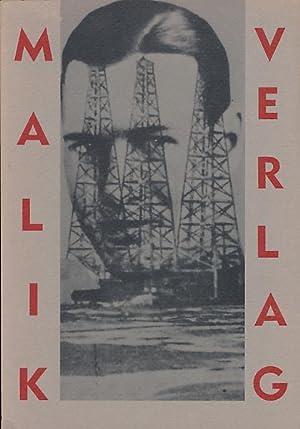The Malik-Verlag 1916 - 1947. Berlin, Prague,: Heller, Steven –