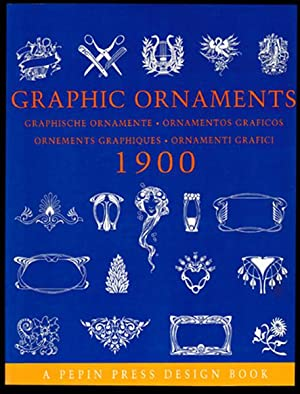 Graphische Ornamente um 1900. Graphic ornaments, ornamentos: o. A.: