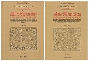 Cosmographia. 2 Bände (= komplett). Das ist: Münster, Sebastian –