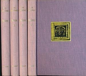Théâtre. 4 Bände (= komplett). Band 1: Giraudoux, Jean: