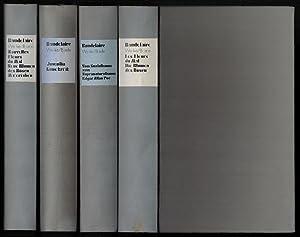 Sämtliche Werke, Briefe. 4 Bände (von 8).: Baudelaire, Charles:
