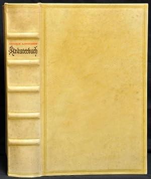 Kräuterbuch. Kunstliche Conterfeytunge der Bäume/ Stauden/ Hecken/: Lonitzer, Adam: