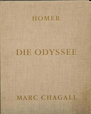 Die Odyssee. Von Vava Chagall autorisierte deutsche: Chagall, Marc –